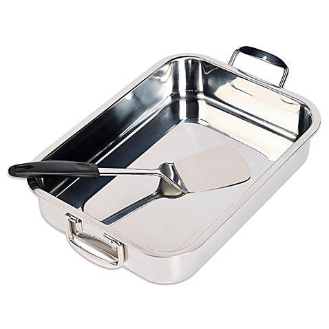 stainless steel lasagna pan