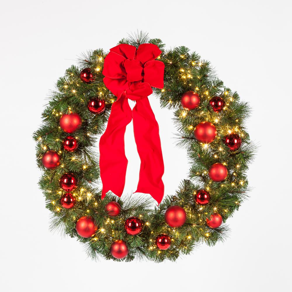 perfect outdoor wreath