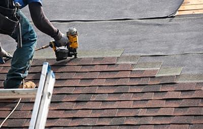 roof covering repair