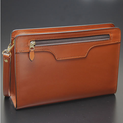 Men's Leather Clutch